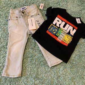 Toddler outfit RunDMC